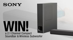 #Sony 2.1 Channel Compact Soundbar & Subwoofer competition - Winner: andystonell
