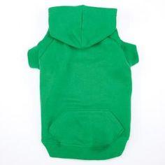 Casual Canine Basic Dog Hoodie - Green