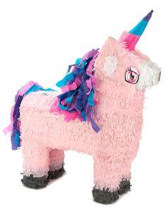 Piñata Licorne  et un choix immense de décorations pas chères pour anniversaires, fêtes et occasions spéciales. De la vaisselle jetable à la déco de table, vous trouverez tout pour la fête sur VegaooParty
