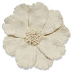 Palecek Ceramic Flower Wall Decor