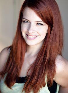 auburn red hair color shade