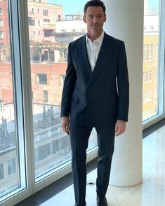 "Hugh Jackman on Twitter: ""I feel like I've been called to the Principal's office.… "" Hugh Jackman, Suit Jacket, Handsome, Actors, Blazer, Jackets, Boyfriends, Social Media, Twitter"