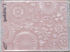 Frantic Stamper Happenings: Technique Thursday: Embossing Folders Many Different Techniques