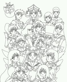 Pretty cure coloring pages google search glitter force - Coloriage sailor moon ...
