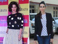 What Priyanka and Karisma Wear to Work http://movies.ndtv.com/photos/what-priyanka-and-karisma-wear-to-work-18017