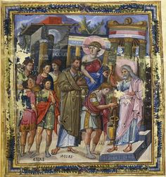 Paris psaulter gr139 fol3v - Category:Paintings of the Anointing of David - Wikimedia Commons