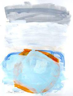 "Saatchi Art Artist Sheryn Bullis; Painting, ""Solstice Study 9"" #art"