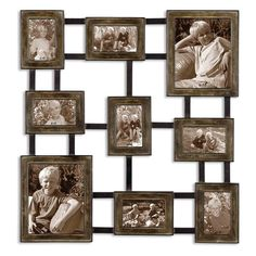 Have to have it. Uttermost Lucho Hanging Photo Collage Wall Art $215.60