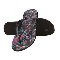 Slim Paradiso Flip Flop by Havaianas - Add a pop of color to your summer wardrobe with these flexible printed flip flops from Havaianas®.