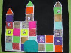 """Château d'après le livre """"le tout petit roi"""" Chateau Moyen Age, Dragons, Ecole Art, Prince And Princess, Preschool Art, Art Lesson Plans, Art Education, Art Lessons, Albums"""