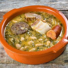 pote-asturiano Spanish Food, Tostadas, Cheeseburger Chowder, Stew, Soup Recipes, Tapas, Food And Drink, Gluten Free, Yummy Food