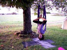 Yoga Swing Instruction How To Part 2 of 6 Pelvic Nest Inversions Yoga Inversions, Yoga Nidra, Bikram Yoga, Iyengar Yoga, Ashtanga Yoga, Vinyasa Yoga, Hata Yoga, Living Yoga, Yoga Dance
