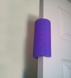 DIY Toddler Proof Door Stopper