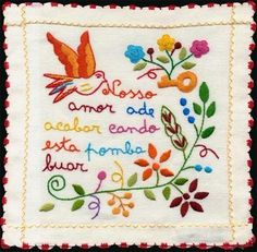 Lenço dos namorados (Portugal)old tradition in Portugal. Single girls embroidered handkerchiefs with thoughtful phrases for them to offer a young single man that they liked. If he accepted the handkerchief, was a sign that he accepted the courtship.
