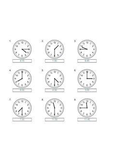 Znalezione obrazy dla zapytania zegary karty pracy klasa 2 Math For Kids, Clock, Math Equations, Chinese, Child, Therapy, Watch, Children, Kid