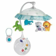 Fisher-Price Precious Planet 2-in-1 Projection Mobile. See more http://amzn.to/GXGjlu