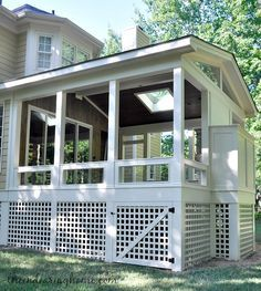 How To Build A Screened In Porch Over An Existing Deck