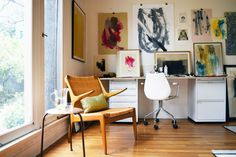 Anna Ullman's Art Studio