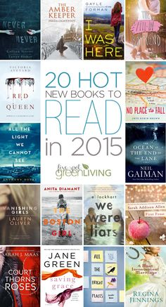 20 Hot New Books to Read in 2015 #books