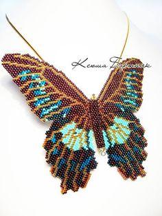 bead weaving vlinder peyote steek                                                                                                                                                      More