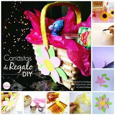 Canastas de Regalo DIY  Para estas fechas nada más lindo que regalar cositas ricas como la #Miel  y preparar algo como una canasta especial. Un #regalo sencillo, económico y muy bonito :)  Tutorial aquí: http://soymamaencasa.com/2014/12/canastas-de-regalo-y-miel.html   #diy #manualidades #crafts #Navidad #Christmas #honey #sweet #DonVictor #HoneyForHolidays #CollectiveBias #Ad