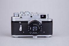 Vintage Rangefinder Film Camera ZORKI-4. 4TH VERSION. Lens