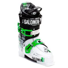 Salomon Ghost 100 Ski Boot - Men's White/Black, 26.5 * Want to know more, click on the image.