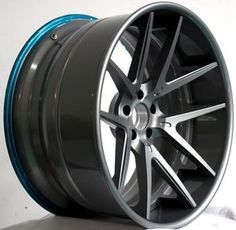 Deep Concave 3 Piece Forged Aluminum Wheel LG3-044