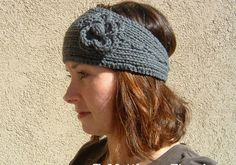 Headband Earwarmer (Bulky Yarn Version) - UPDATED, NEW AND IMPROVED (11/23/11)     Materials:   Size 10 knitting needles   Cascade 109...