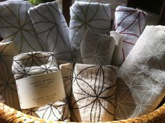 FLOWER OF LIFE 1 Crystal Grid Cloth all natural by CrystalGrids