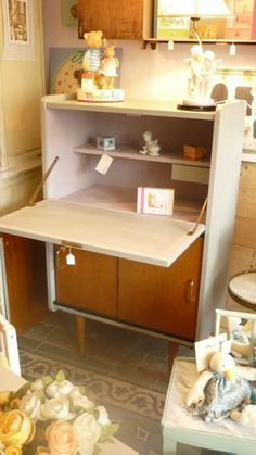 bureau colier vintage vert perso pinterest bureaux et vintage. Black Bedroom Furniture Sets. Home Design Ideas
