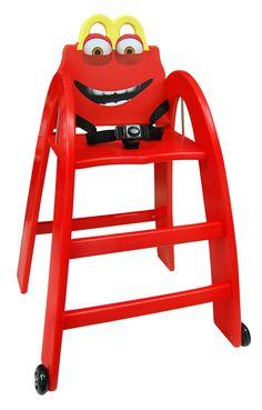 La Happy Baby Chair  #babychair #kids #chaisehaute #mcdonalds #restaurant