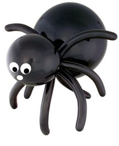 """16"""" Inch Spider  For the crafty folks, check out our balloon recipes to creation decorations for holiday parties, school functions, family celebrations and corporate events. Visit our website link for the recipe."""