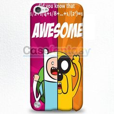 Finn And Jake 1 Adventure Time Iphone iPod Touch 5 Case | casefantasy