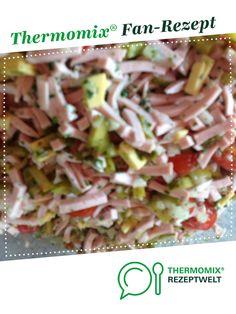 Superleckerer Wurstsalat von Heike3006. Ein Thermomix ® Rezept aus der Kategorie Vorspeisen/Salate auf www.rezeptwelt.de, der Thermomix ® Community.