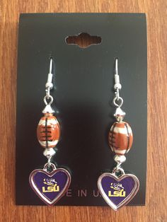 LSU Earrings