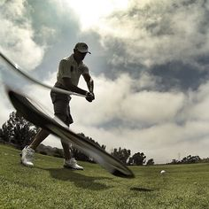 145 mph clubhead speed, caught on camera by 2x World Long Drive Champ and Callaway Staff Pro, Jamie Sadlowski. #Golf