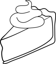 Whole Pie Coloring Page Pinterest • The worl...