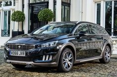 HYBRID DOES 2.5 MILES AT 40MPH Peugeot 2016 508RXH