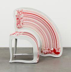 Sebastian Brajkovic, Lathe v Red, 2008. Courtesy Carpenters Workshop Gallery