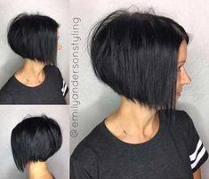 Dark Short Hair Color