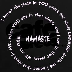Namaste~If I was brace enough, this would make a cool upper arm tat