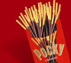 Portable Pocky - Whether satisfying your craving by yourself or sharing the good times with friends, one compact, easy-to-carry package holds plentiful amounts of Pocky.