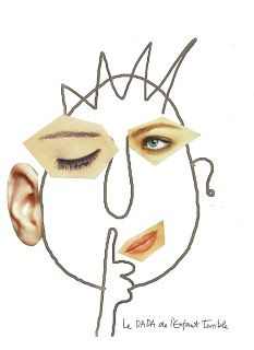 Art face collages (link includes the drawn faces to print out and collage onto Drawing For Kids, Painting For Kids, Art For Kids, Kindergarten Art Lessons, Art Lessons Elementary, Creative Workshop, Creative Art, Art Visage, Classroom Art Projects