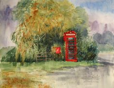 View Hardingham Telephone Box by Zoe Elizabeth Norman. Browse more art for sale at great prices. New art added daily. Buy original art direct from international artists. Shop now
