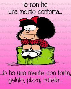 Pensieri di Mafalda.