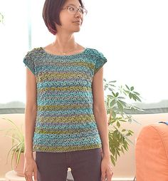 Crochet Blouse Patterns Ravelry: water's edge pattern by Trish Young - Crochet Bodycon Dresses, Black Crochet Dress, Mode Crochet, Bead Crochet, Freeform Crochet, Crochet Shirt, Crochet Cardigan, Crochet Sweaters, Crochet Summer Tops