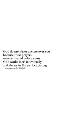 Just because it's Not your turn doesn't mean you won't get what you've prayed for.