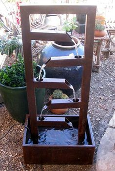 The Best Shrubs to Ornate Your Woodland Garden 2019 This is pretty easy to build this fountain. Maybe build a small one for in a house. Still way cool The post The Best Shrubs to Ornate Your Woodland Garden 2019 appeared first on Metal Diy. Welding Art Projects, Metal Projects, Metal Crafts, Diy Craft Projects, Project Ideas, Blacksmith Projects, Metal Welding, Diy Welding, Welding Tools