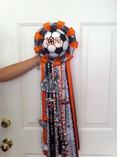 Homecoming mum I made for my cousin!